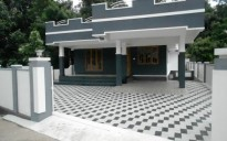 1600 Sqft 3 BHK Ready to Occupy house for sale at Changanassery, Kottayam