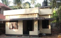 4 cent plot with a small house 1bhk for sale Guruvayoor