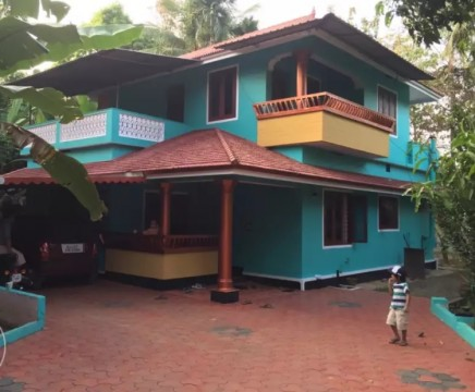 Fully furnished home at kallettumkara